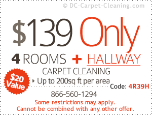 $139 only - 4 rooms & hallway cleaning