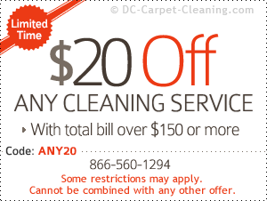 cleaning coupon discount