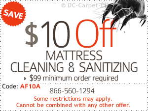 $10 off mattress cleaning & sanitizing